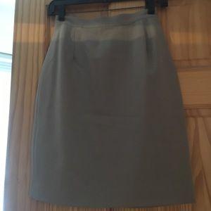 Express wool skirt, Size 1, tan.